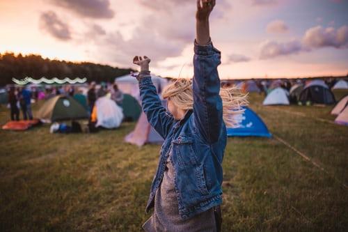 Great Britain's biggest music festivals